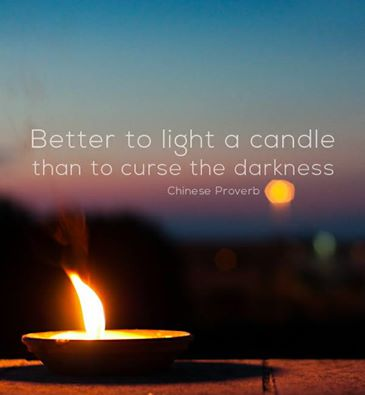Lichtjes in het donker brengen doe je zelf