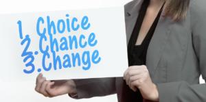 Keuzes maken voor verandering