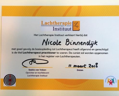 Diploma Lachtherapie